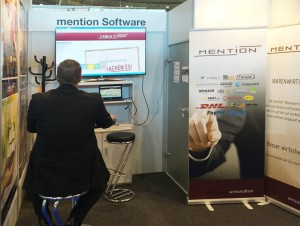 mention auf der IT & Business 2015